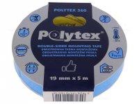 Oboustranná lepící pěnová páska ANTICOR POLYTEX 560, šíře19mm, 5m