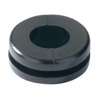 Průchodka HellermannTyton HV1302-PVC-BK-M1, 633-03020, 9,0 x 3,0 mm, černá