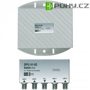 Multiswitch Axing ES SPU 41-02, 4x LNB, 1x SAT