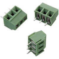 Svorkovnice Würth Elektronik 691214110003, 300 V, AWG 24-16, 3,5 mm, zelená