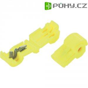 Zářezová svorka 3M, 80-0140-0084-0, 3 mm², 2pólová, žlutá