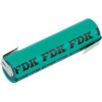 Akumulátor s pájecími kontakty NiMH 4/3 FA, 1,2 V, 4000mAh