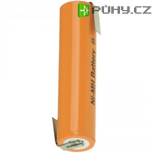 Akumulátor s pájecími kontakty NiMH Panasonic 4/3 A, 1,2 V, 3800 mAh