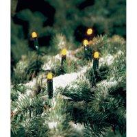 Vánoční venkovní řetěz Konstsmide, 100 žlutých LED