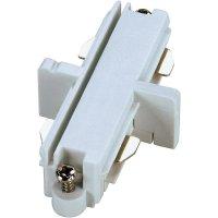 Podélná spojka SLV pro 1fázový HV kolejnicový systém 143091, 230 V, bílá