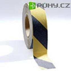 Protiskluzná lepicí páska COBA Europe, 18,3 cm x 50,0 cm, černá/žlutá