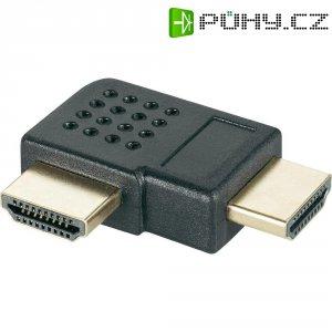 Adaptér HDMI zástrčka/zástrčka, 90°