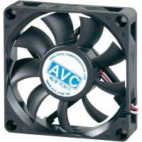 PC větrák s krytem AVC F7015 (š x v x h) 70 x 70 x 15 mm