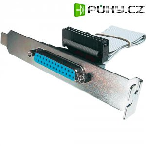 Paralelní kabel Digitus, AK-580300-003-E, zásuvka D-SUB 25 pol. ⇔ lišta 26 pol.