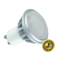 Žárovka LED SPOT GU10 7W bílá přírodní SOLIGHT