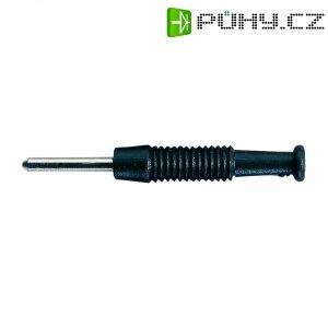 Miniaturní konektor SKS Hirschmann MST 3, Ø 2 mm, černá