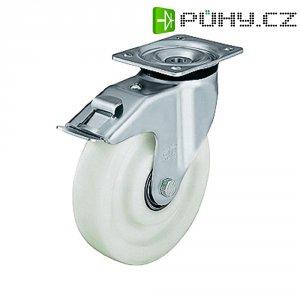 Otočné kolečko s konstrukční deskou a brzdou, Ø 125 mm, Blickle 412841
