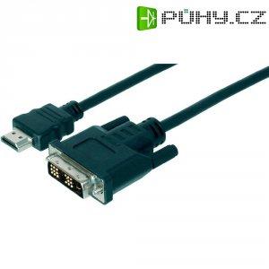 Kabel vidlice HDMI ⇔ vidlice DVI, 2 m, Digitus