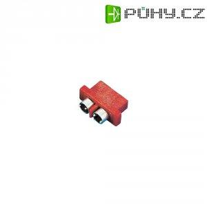 Konektor pro vysoký odběr Modelcraft, zásuvka, červená