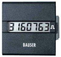 Digitální čítač impulsů Bauser, 3811,2,1,7,0,2, 115 - 240 V/AC, 45 x 45 mm, IP65