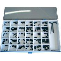 Sada závitových kolíků, 13150-De, DIN 913/914/916/11, 306 ks