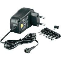 Síťový adaptér Goobay 67951, 3 V/DC, 4,5 V/DC, 5 V/DC, 6 V/DC, 7,5 V/DC, 9 V/DC, 12 V/DC 1000 mA