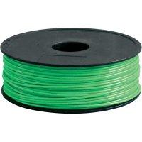 Náplň pro 3D tiskárnu, Renkforce PLA300V1, PLA, 3 mm, 1 kg, světle zelená