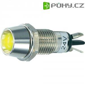LED signálka SCI R9-115L 24 V YELLOW, vnitřní reflektor 5 mm, 24 V/DC, žlutá