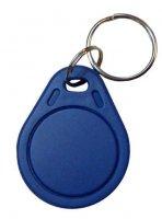 Kontaktní čip, přívěsek na klíče, 13.56 MHz, modrý
