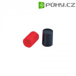 Prodlužovací krytka k tlačítku, 8 mm, červená