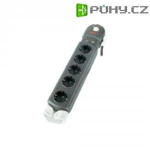 Zásuvková lišta s přepěťovou ochranou APC Performance, 1406765, 5 zásuvek, antracit