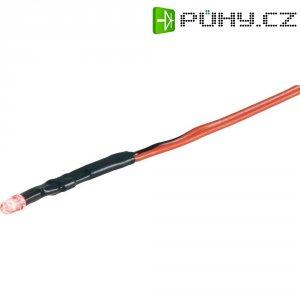 LED signálka P585A, 2300 mcd, červená