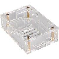 Plastové pouzdro Banana Pi-Case01, transparentní