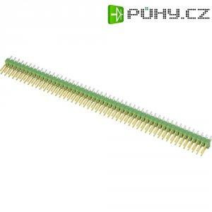 Kolíková lišta rovná 2x50 pin, pozlacená