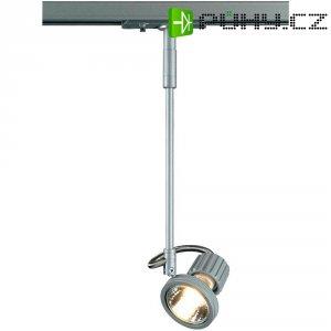 Lištové halogenové svítidlo SLV Kaspo, 230 V, 50 W, 1fázové, GU10, stříbrná/šedá