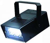 ž Efekt stroboskop LED bílý