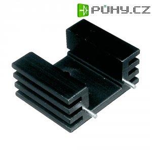 Prolisovaný chladič Assmann WSW V5229W, 25 x 32 x 20 mm, 12,5 K/W