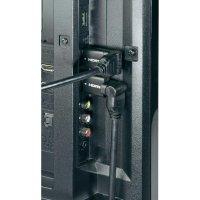 HDMI kabel s Ethernetem Speaka High Speed, HDMI zástrčka ⇔ HDMI zástrčka, úhlový, 5 m