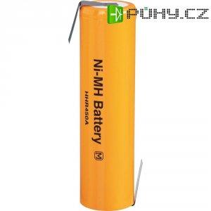 Akumulátor s pájecími kontakty NiMH Panasonic 4/3 FA, 1,2 V, 4500 mAh