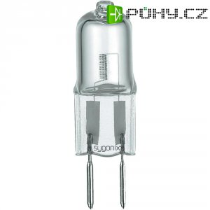 Halogenová žárovka Sygonix, G6.35, 35 W, 40 mm, stmívatelná, teplá bílá