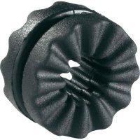 Antivibrační objímka Richco VG-3, 9,7 x 4 x 2,5 x 5,9 mm, černá
