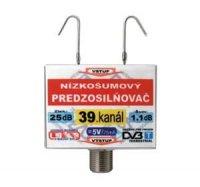 Anténní zesilovač DVB-T 39K 5V 25dB F