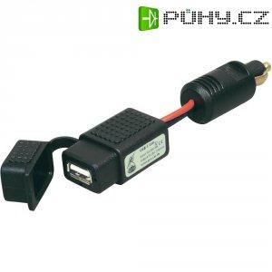 USB nabíječka s krytem do autozásuvky ProCar, 68302181, 12 V ⇔ 5 V, 1 A