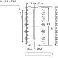 Ochraná objímka Panasonic pro regulátor teploty KT8