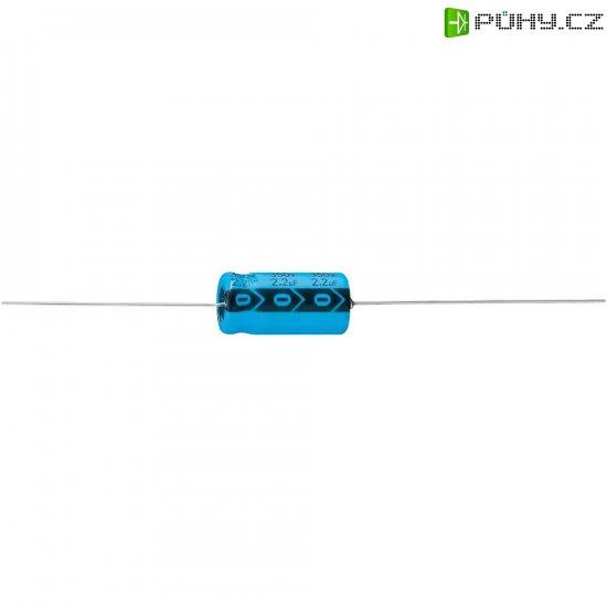 Axiální kondenzátor elektrolytický A 1120 35X75, 100 µF, 450 V, 20 %, 49 x 35 mm - Kliknutím na obrázek zavřete