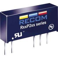 DC/DC měnič Recom R05P215S/P (10004585), vstup 5 V/DC, výstup 15 V/DC, 133 mA, 2 W