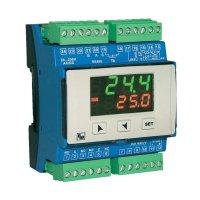 Panelový PID termostat na DIN lištu Wachendorff, 24 - 230 V/AC, IP20