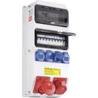 Plastový rozbočovač s jističem Strobl BV PCE, 9025521, 400 V, 16/32 A, IP54