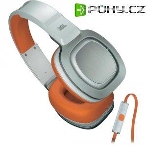 Sluchátka s mikrofonem JBL J88I White-Orange