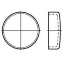 Uzavírací víčko TOOLCRAFT 107089, DIN 443, (Ø) 45 mm, Ocel, 25 ks