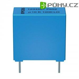 Foliový kondenzátor MKP Epcos plast;epoxidová pryskyřice B32652-A3334-J, 0,33 µF, 250 V, 5 %