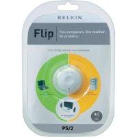Přepínač se 2 porty Belkin, PS/2 + audio s dálkovým ovládáním
