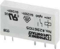 Relé do DPS Phoenix Contact 2961105, 24 V/DC, 6 A, 1 přepínací kontakt, 1 ks