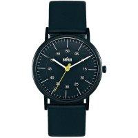 Ručičkové náramkové hodinky Braun 66530, dámské, pásek z nerezové oceli, černá