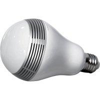 LED žárovka s Bluetooth reproduktorem Mipow, BTL100-SR-WW, E27, 3 W, 230 V, teplá bílá